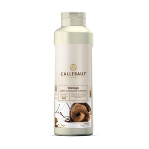 Dark Chocolate flavour topping, Callebaut Belgium, 1 litre Bottle
