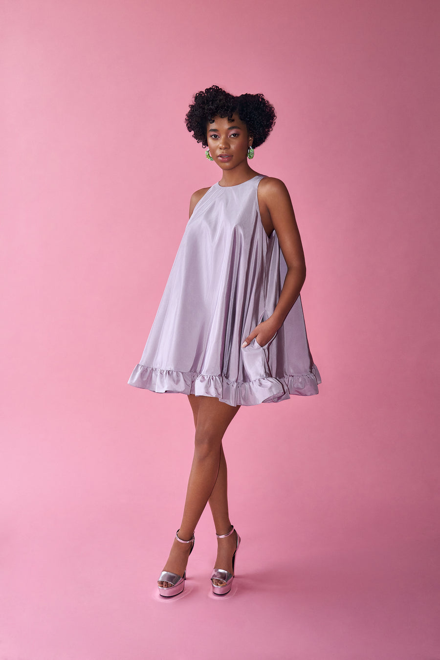 Lavender Whip Dress