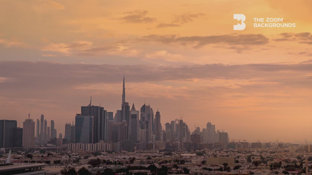city_life_dubai_zoom_backgrounds_video