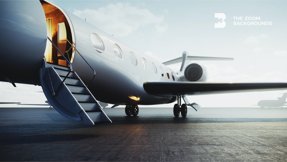Private Jet Zoom Backgrounds