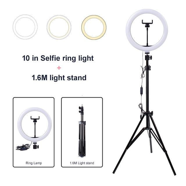 Load image into Gallery viewer, Tripod Ring Light