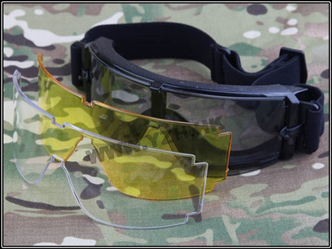 X800 goggle set(3 pc glass)