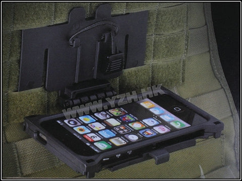 Combact Vest Molle Pouch For Iphone 5 BK