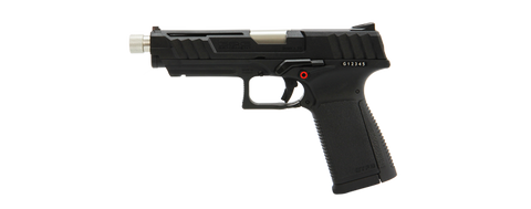 G&G GTP 9 Gas Blow Back Pistol - Black