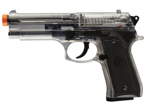 Clear Plastic Spring Action M92