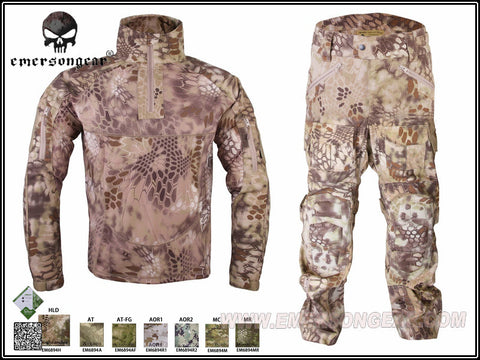 Emerson Riot Style Camo Tactical Uniform Set