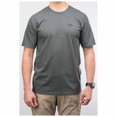 5.11 Scope Photo Logo T Shirt - Charcoal