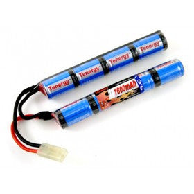 Tenergy 9.6V 1600 MAH Butterfly Battery