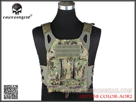 Emerson JPC Vest With 3 Magazine Velcro Pouch