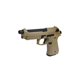 G&G GPM92 Gas Blow Back Pistol - Tan