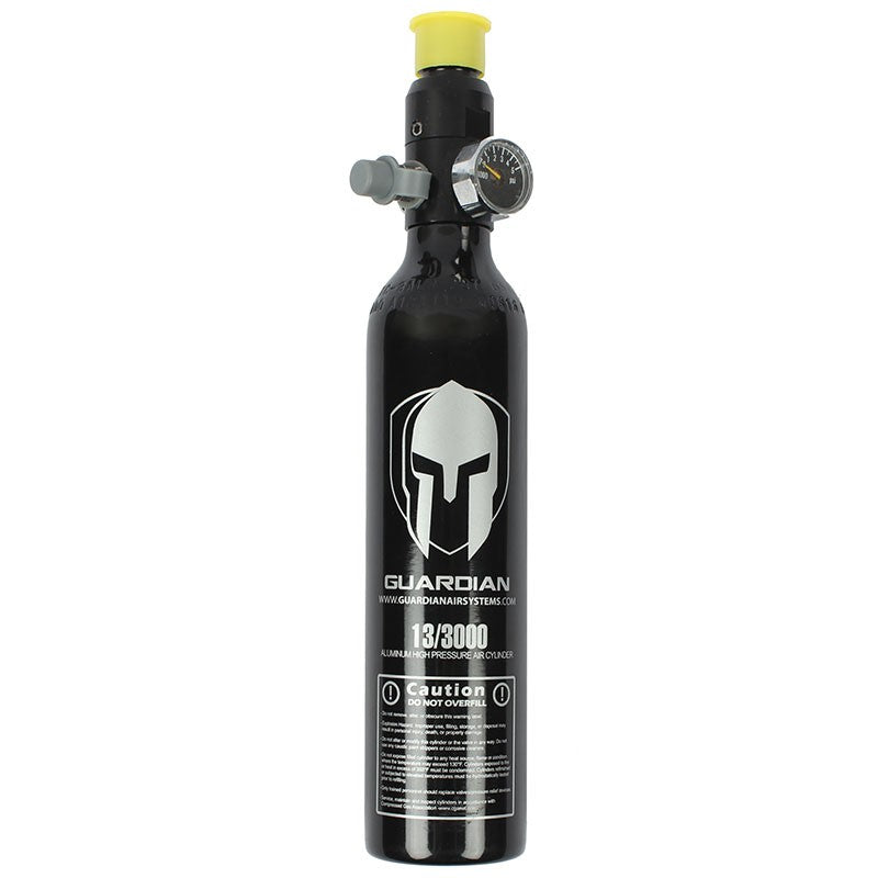 Guardian 13ci / 3000 psi Aluminum HPA Compressed Air Paintball Tank
