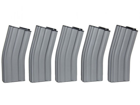 MAG Brand M4 Metal 190rnds Mid Cap Magazine in Black