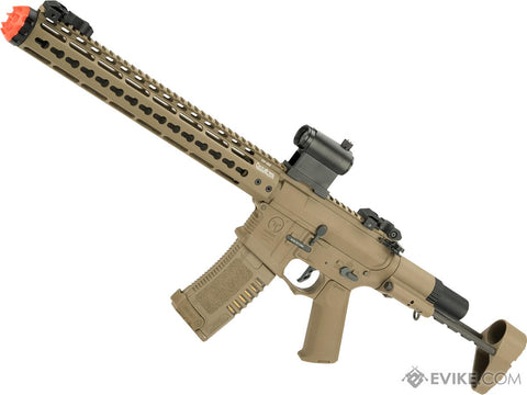 "ARES Amoeba Gen5 AM-016 M4 Airsoft AEG with Octa²rms 13.5"" Keymod Handguard (Color: Dark Earth)"