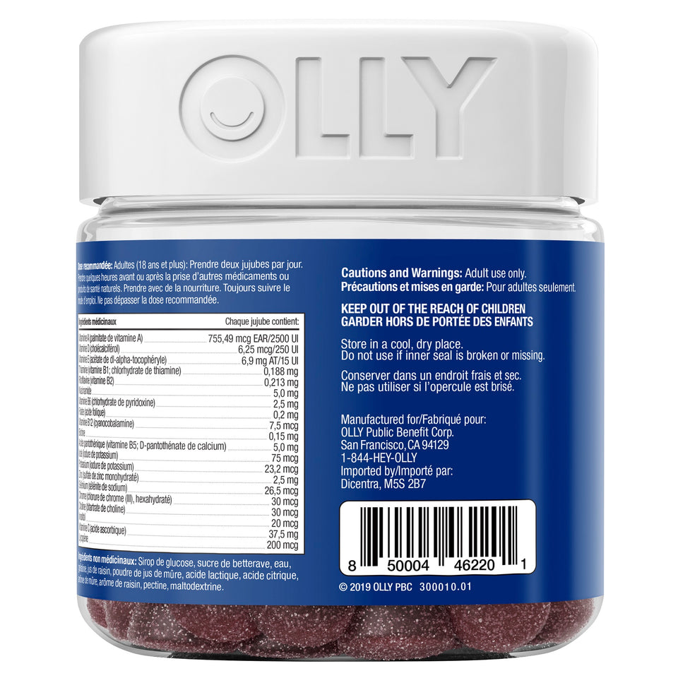 OLLY® Men's Multi Vitamins