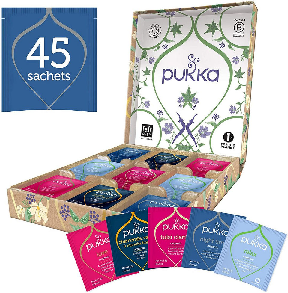 Pukka Tea Relaxation Gift Box