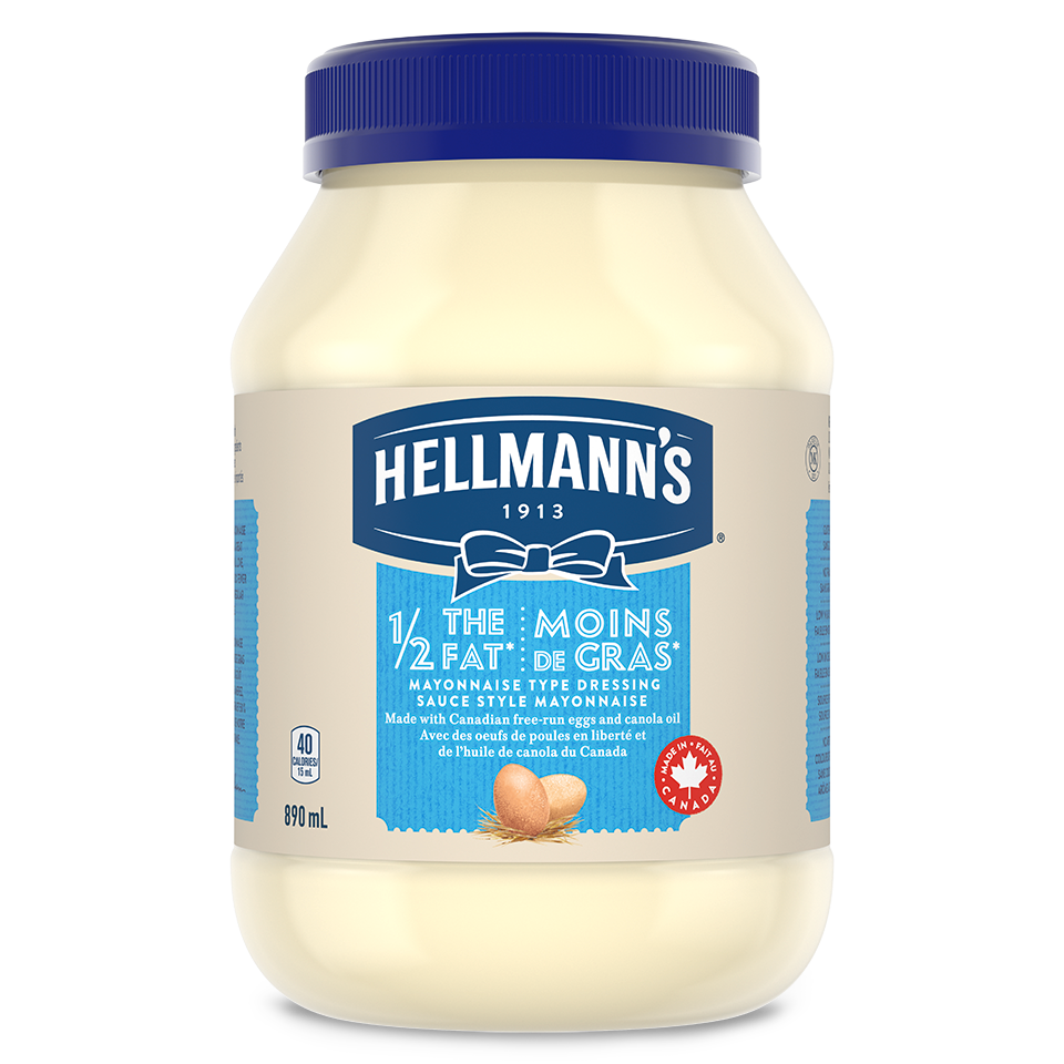 Hellmann's® Mayonnaise Light 1/2 Fat 890 ml