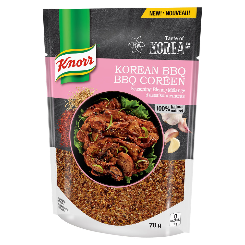 Knorr® Taste of Korea™ Seasoning Blend - Korean BBQ 70g