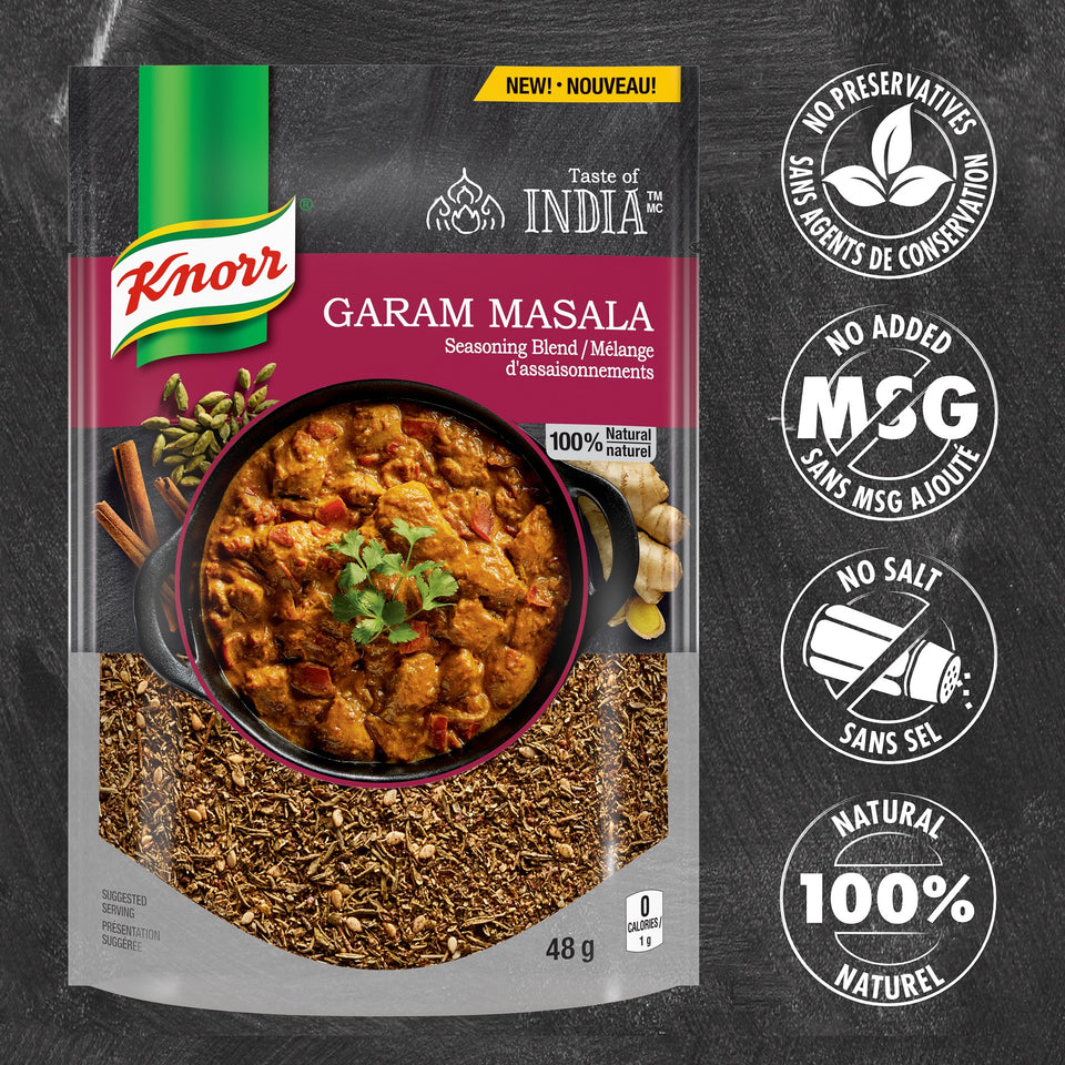 Knorr® Taste of India™ Seasoning Blend - Garam Masala 48g