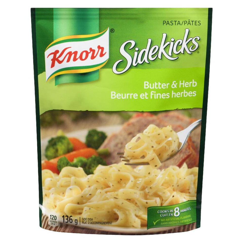 Knorr® Sidekicks® Butter and Herb Pasta Side Dish 136g
