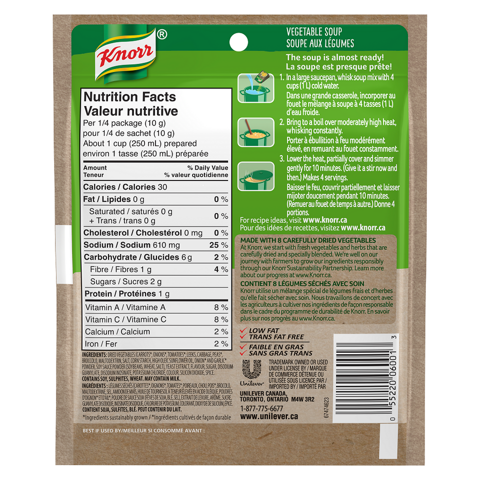 Knorr® Vegetable Soup Mix 40 g
