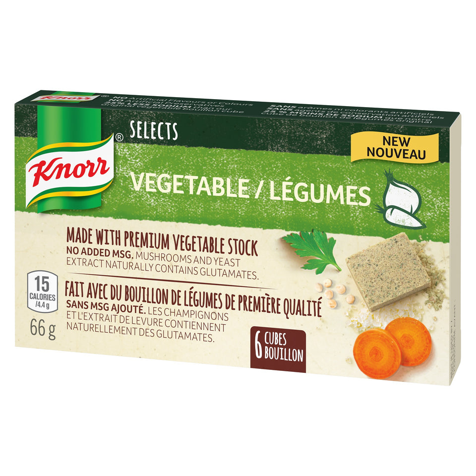 Knorr® Selects™ Vegetable Bouillon Cubes 66g