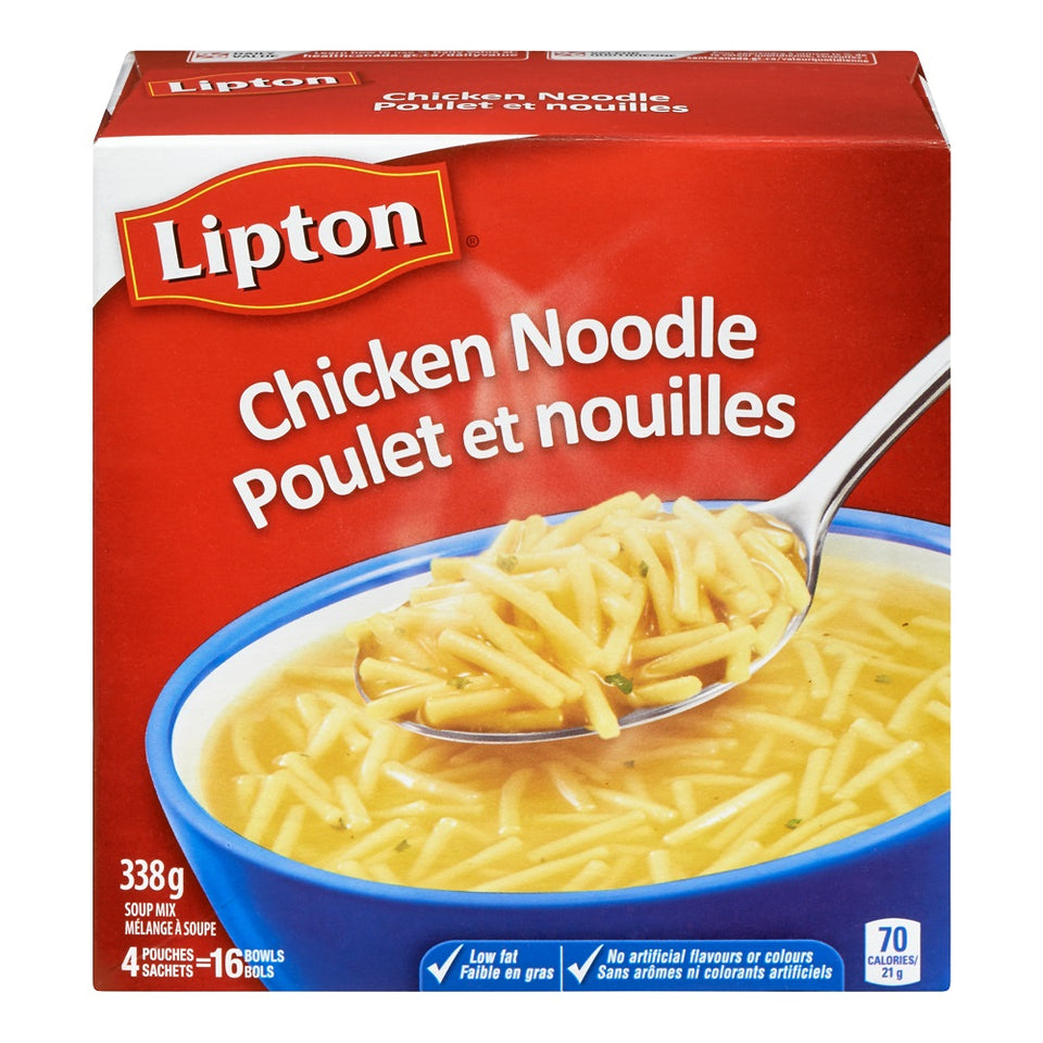 Knorr® Lipton®  Classic Chicken Noodle Soup 338 g
