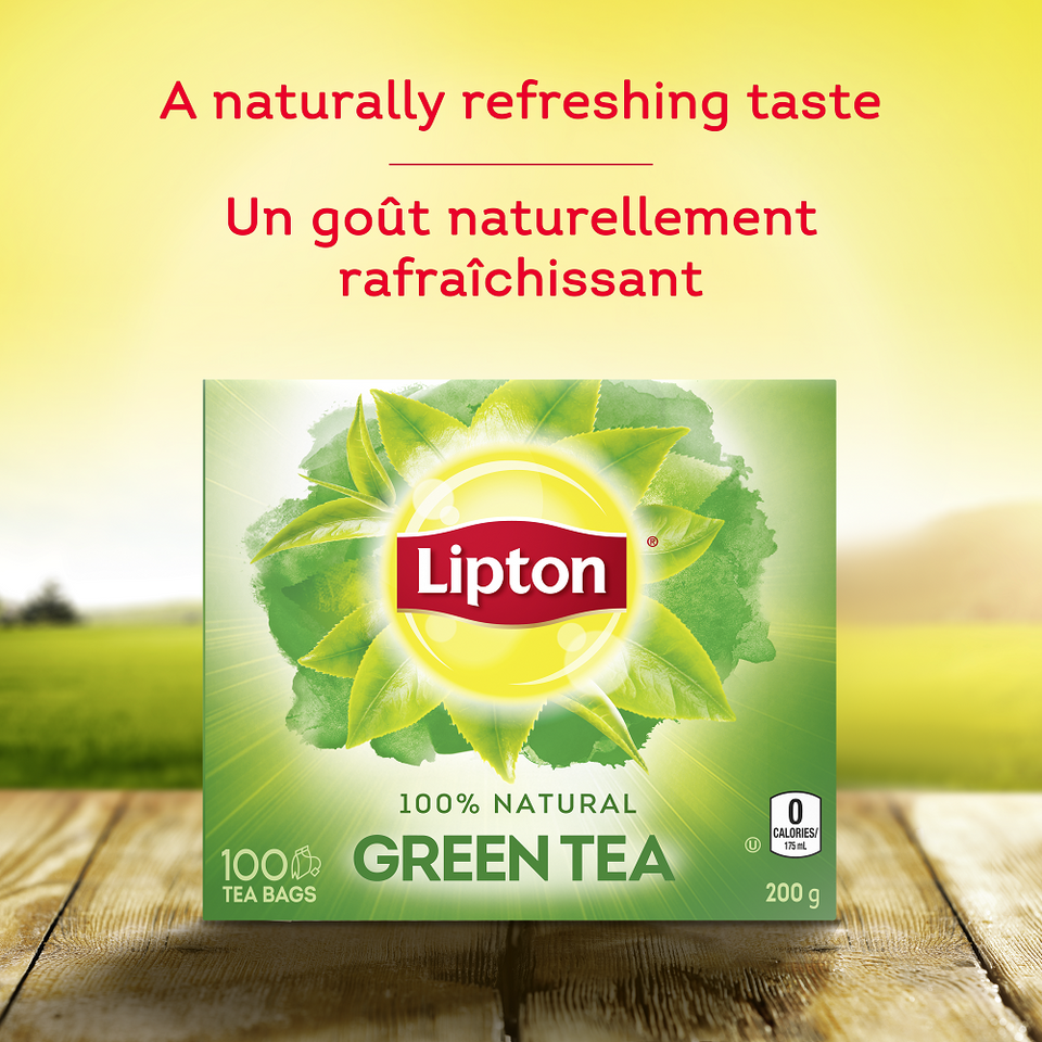 Lipton®  Green Tea 100 tea bags