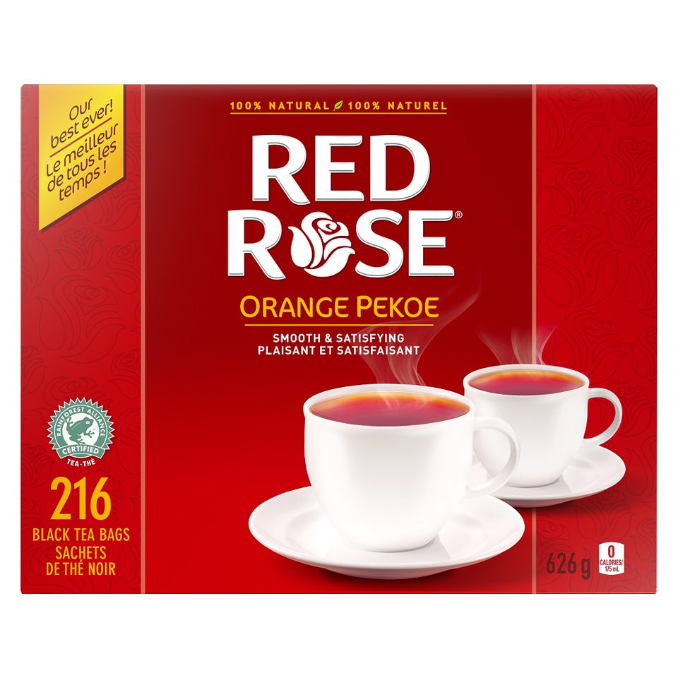 Red Rose® Orange Pekoe Black Tea 216 tea bags