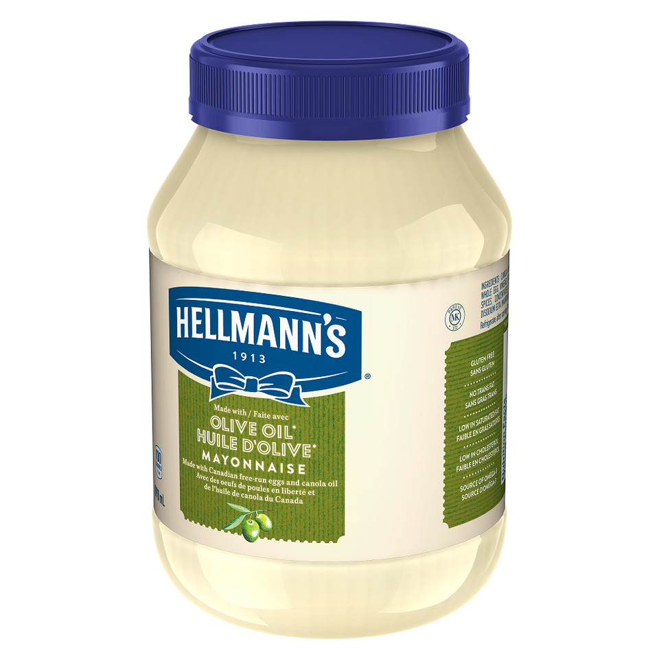 Hellmann's® Mayonnaise with Olive Oil, 890 ml