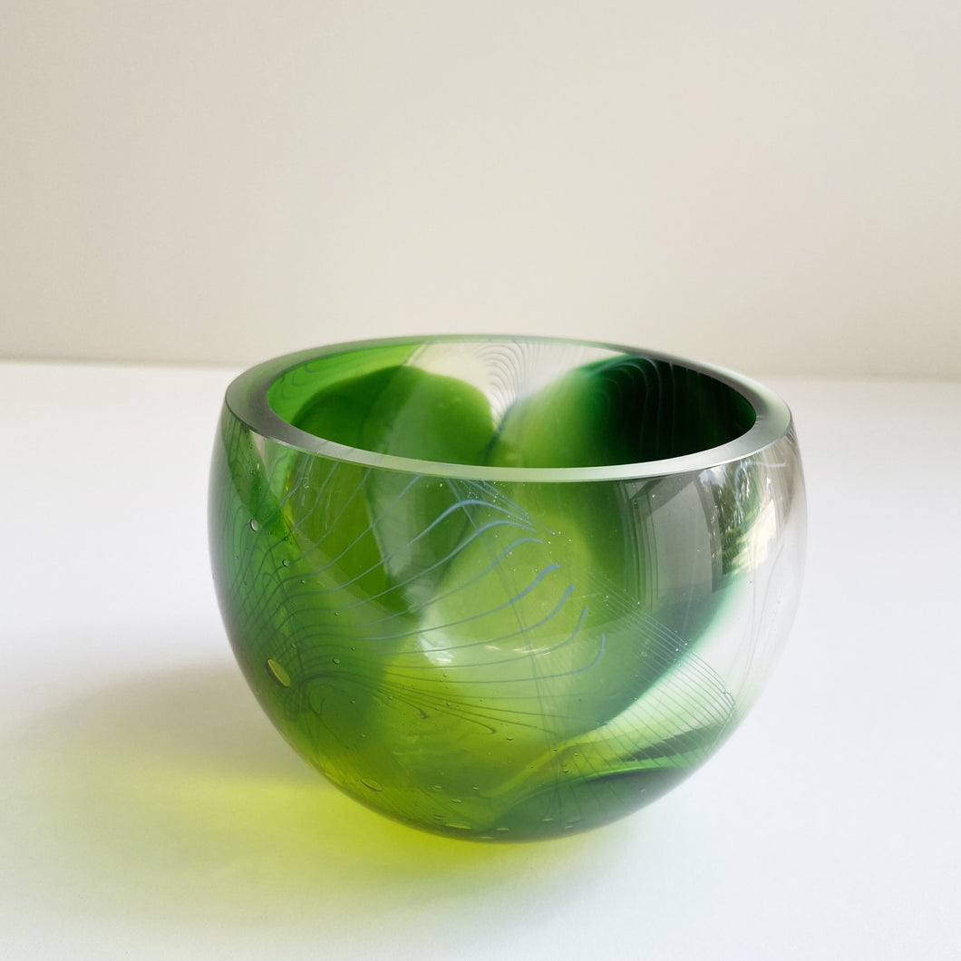 Glass bowl by Nicole Ayliffe