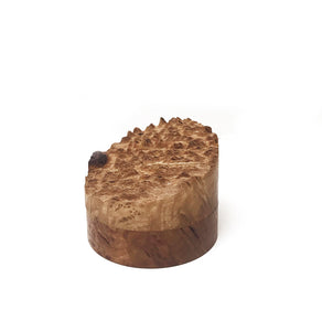 Ring box in Coolibah burl by Helen Walsh