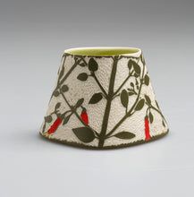 Load image into Gallery viewer, 'Canberra Bells' porcelain vase by Cathy Franzi