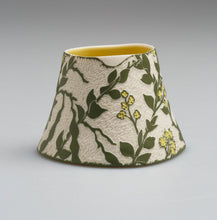 Load image into Gallery viewer, 'Wedge-leaved wattle' porcelain vase by Cathy Franzi