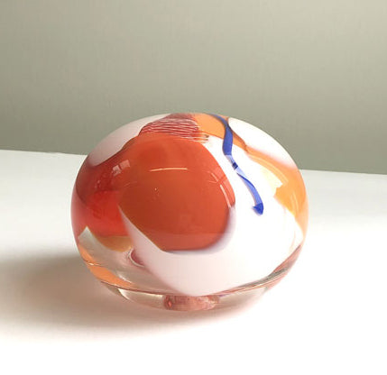 Glass paperweight by Nicole Ayliffe