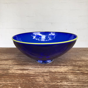 Glass bowl by Maureen Williams