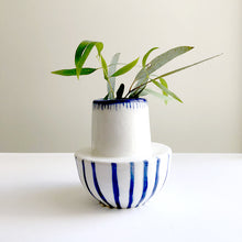 Load image into Gallery viewer, 'Assemblage #5' porcelain vase by Lucile Sciallano