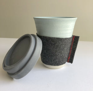 12oz ceramic cup by Claycups