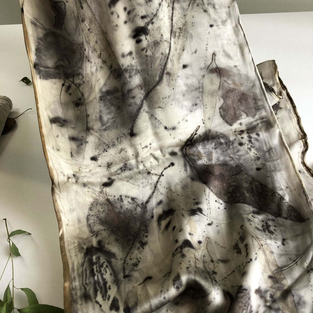 Medium silk scarf by Bee Bowen
