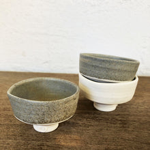 Load image into Gallery viewer, Ceramic 'Sake' bowls by Katherine Mahoney