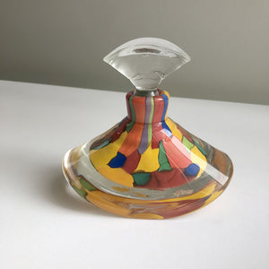 Glass perfume bottle by Maureen Williams