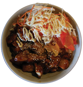 Teriyaki Chicken Donburi Bowls