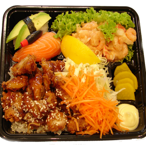 Crispy Chicken Bento Box
