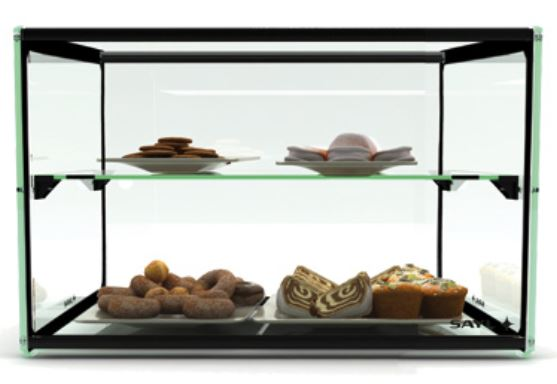 Ambient Display Two Tier 550mm ADS0010