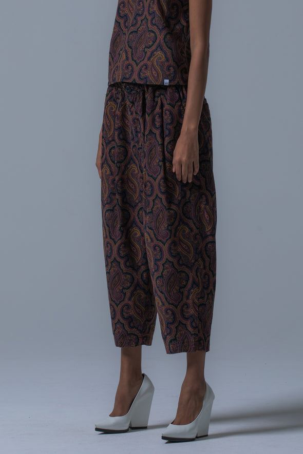 COMPLETE CROPPED TROUSERS