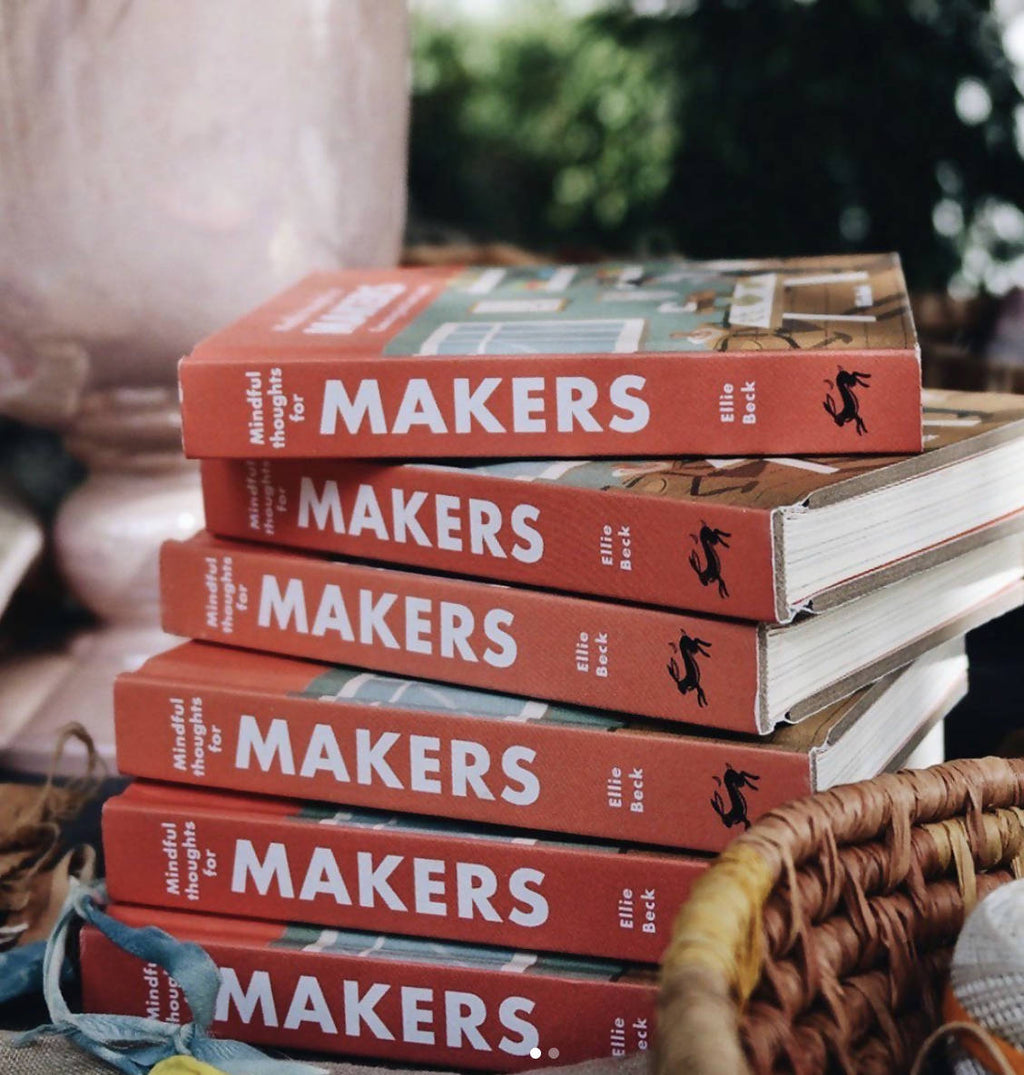 Book 'Mindful Thoughts for Makers' by Ellie Beck - Shop The Tweed Online Marketplace