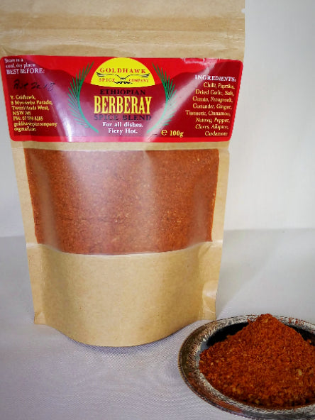 Berberay Ethiopian Spice Blend 100g - Shop The Tweed Online Marketplace