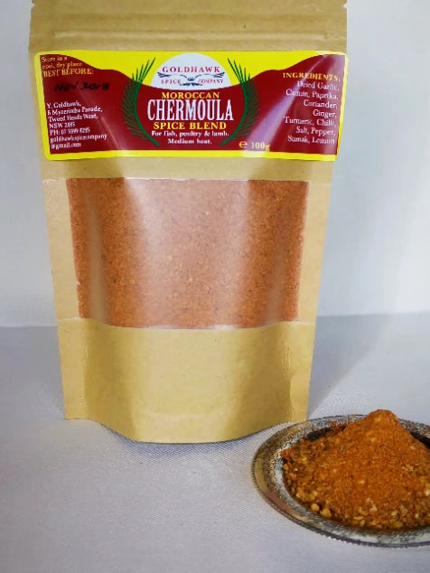 Chermoulah Moroccan Spice Blend 100g - Shop The Tweed Online Marketplace