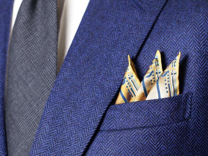 Pocket Square Rules and Etiquette in 2021 – Rampley and Co