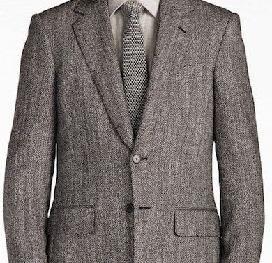 Herringbone Fabric Suit