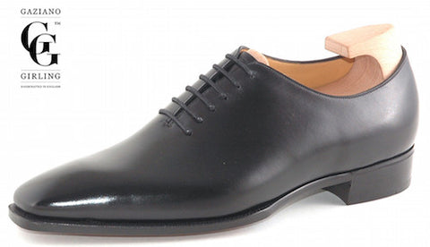Gaziano & Girling Black Oxford Shoes